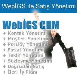 WebİGS İş Güvenlik ve İşyeri Sağlık Yazılımı CRM