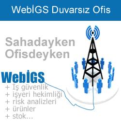 WebİGS İş Güvenlik ve İşyeri Sağlık Yazılımı-Duvarsız Ofis