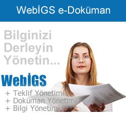 WebİGS İş Güvenlik ve İşyeri Sağlık Yazılımı - Doküman Yönetimi