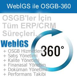 WebİGS İş Güvenlik ve İşyeri Sağlık Yazılımı - OSGB 360